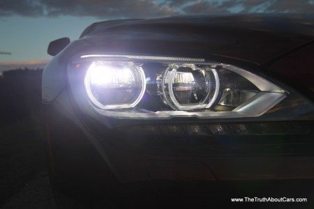2012 BMW 650i coupe, Exterior, LED headlamps, Photography by Alex L. Dykes