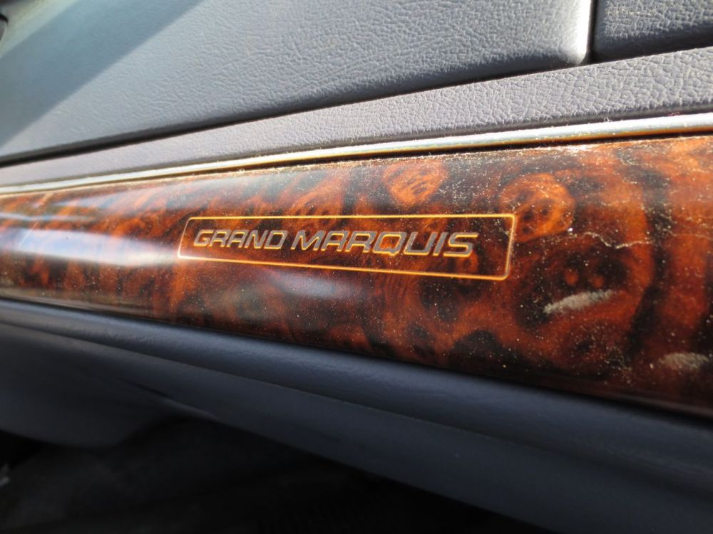 medium resolution of junkyard find 1997 mercury grand marquis ls safety edition the truth about cars