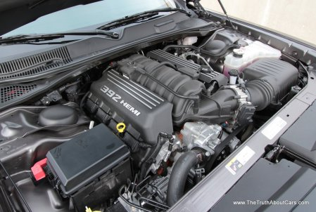2013 Dodge Challenger SRT8, Engine, 6.4L HEMI V8, Picture Courtesy of Alex L. Dykes