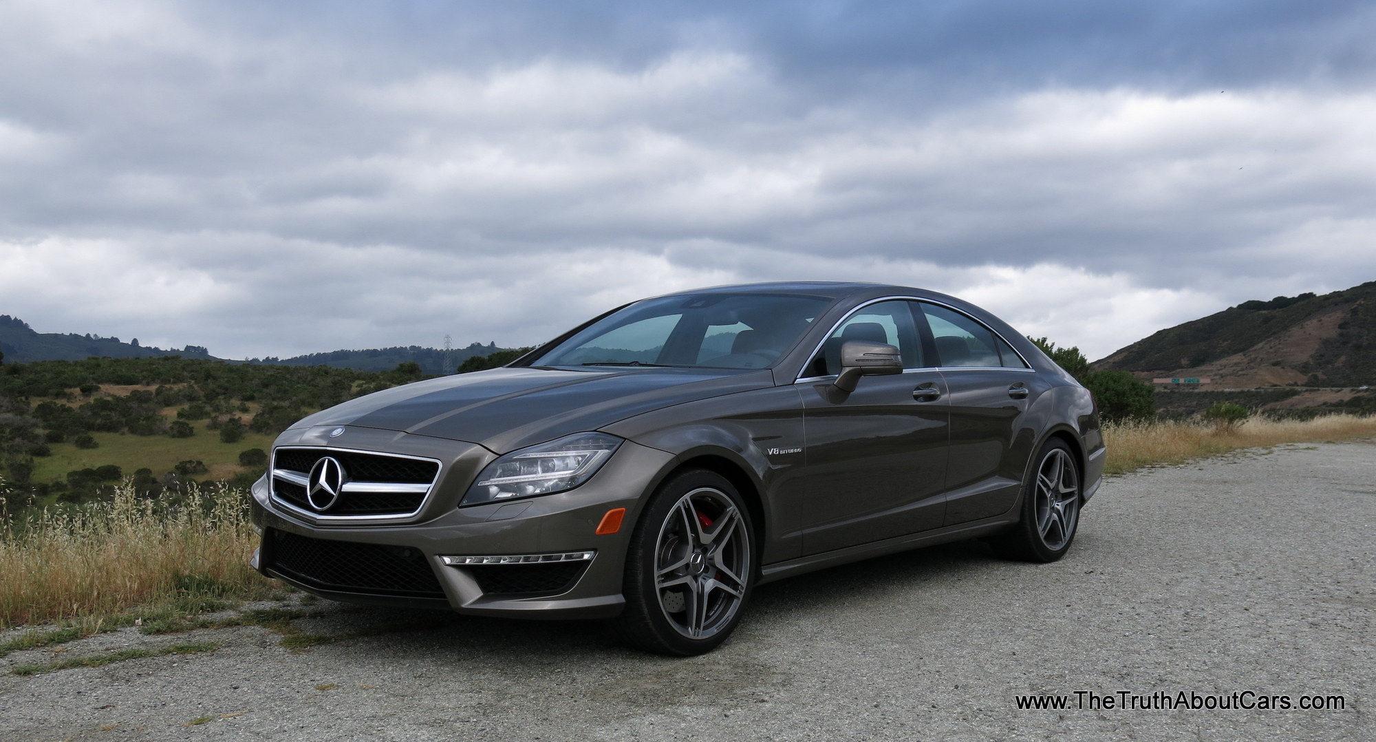 Matte Black Luxury Car Wallpaper Review 2013 Mercedes Benz Cls63 Amg Video The Truth