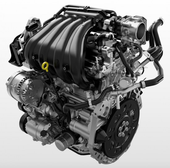 2013 Nissan NV200 Engine, Picture Courtesy of Nissan