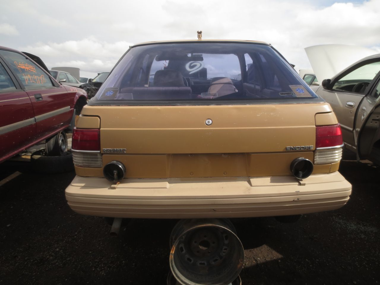 15  1985 Renault Encore Down On The Junkyard  Picture Courtesy Of Murilee  Martin