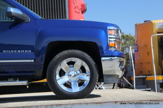 2014 Chevrolet Silverado 1500 Exterior, Picture Courtesy of Alex L. Dykes