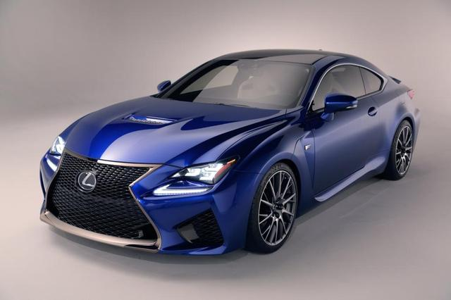 NAIAS 2014 The Lexus RC F Has The C63 AMG Coupe In Its Sights