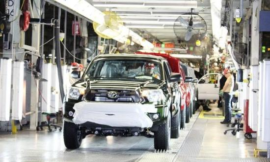 Toyota Baja California Assembly Line