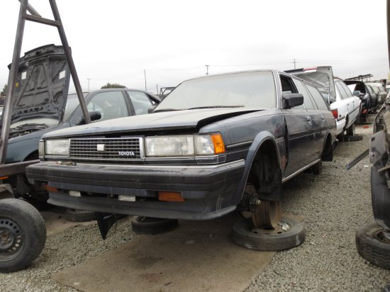 08 - 1986 Toyota Cressida Wagon Down On the Junkyard - Picture courtesy of Murilee Martin