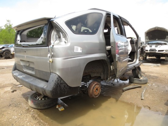04 - 2003 Pontiac Aztek Down On the Junkyard - Picture courtesy of Murilee Martin