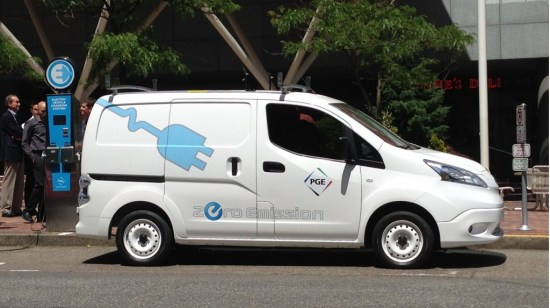 Portland General Electric Nissan e-NV200
