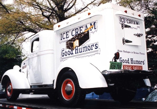 A Chevrolet based Good Humor truck in the collection of the Smithsonian institutions.