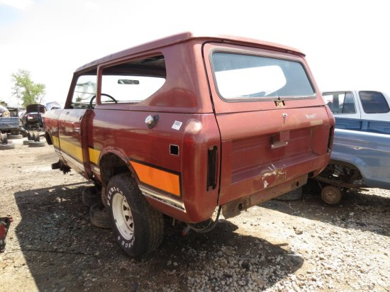 01 - 1972 International Harvester Scout II Down On the Junkyard - Picture courtesy of Murilee Martin