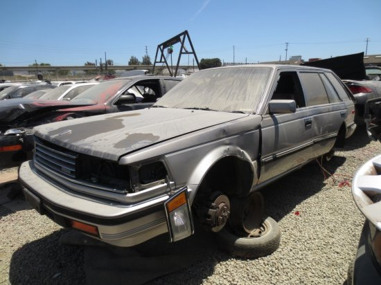 04 - 1986 Nissan Maxima Wagon Down On the Junkyard - Picture courtesy of Murilee Martin