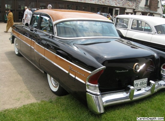 1956 Packard Executive. It combined a Packard front end with a Clipper rear end. Full gallery here.