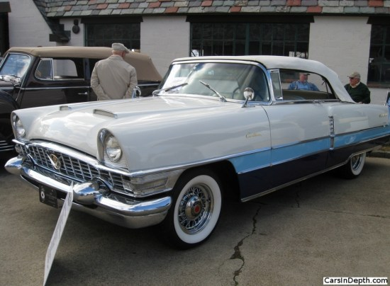 1955 Packard Caribbean convertible. Full gallery here.