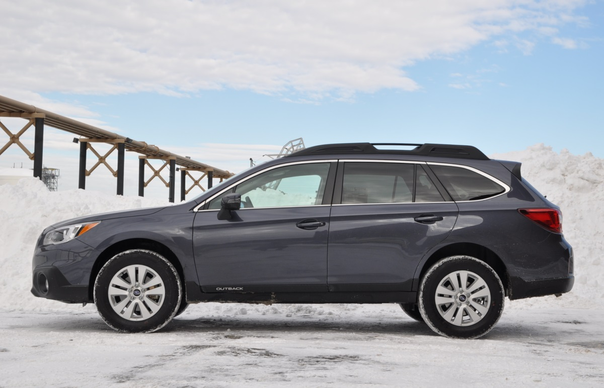 review 2015 subaru outback premium the truth about cars. Black Bedroom Furniture Sets. Home Design Ideas