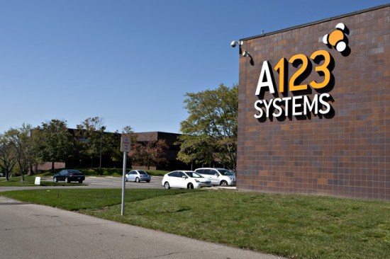 A123 Battery Systems HQ