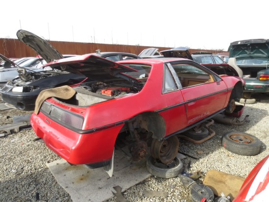 12 - 1988 Pontiac Fiero Formula Down On the Junkyard - Pictures courtesy of Murilee Martin