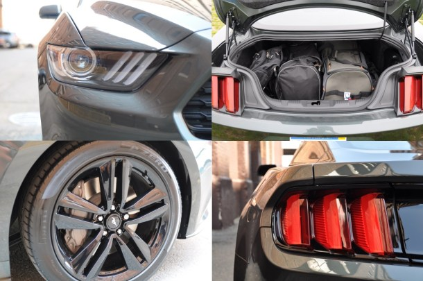 2015 ford mustang ecoboost exterior details