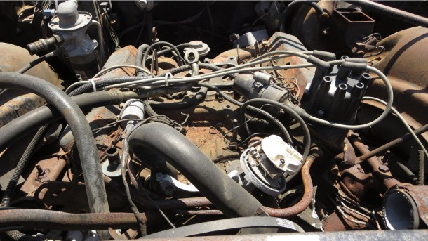 22 - 1974 Cadillac Fleetwood Junkyard Find - picture courtesy of Murilee Martin