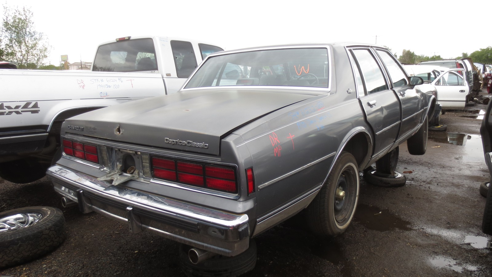 23 1988 chevrolet caprice down on the junkyard picture courtesy of murilee martin