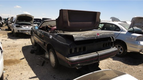 small resolution of related junkyard find 1990 cadillac allant april