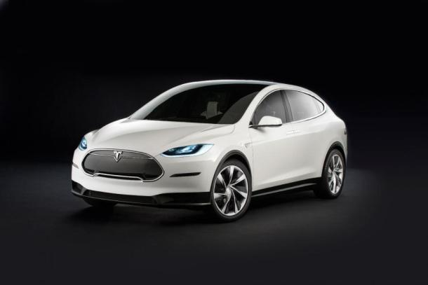 Tesla Model X: Image: Tesla Motors
