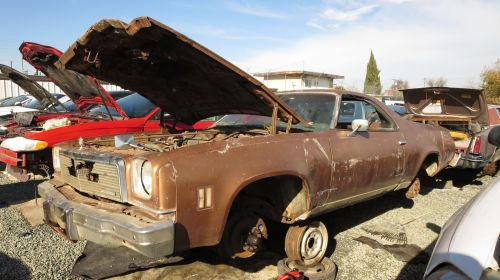 small resolution of 1974 chevrolet el camino in california junkyard lh front view 2016 murilee martin