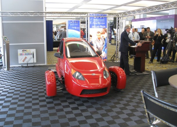 Elio Motors 2016 NAIAS, Image: © 2016 Ronnie Schreiber/The Truth About Cars