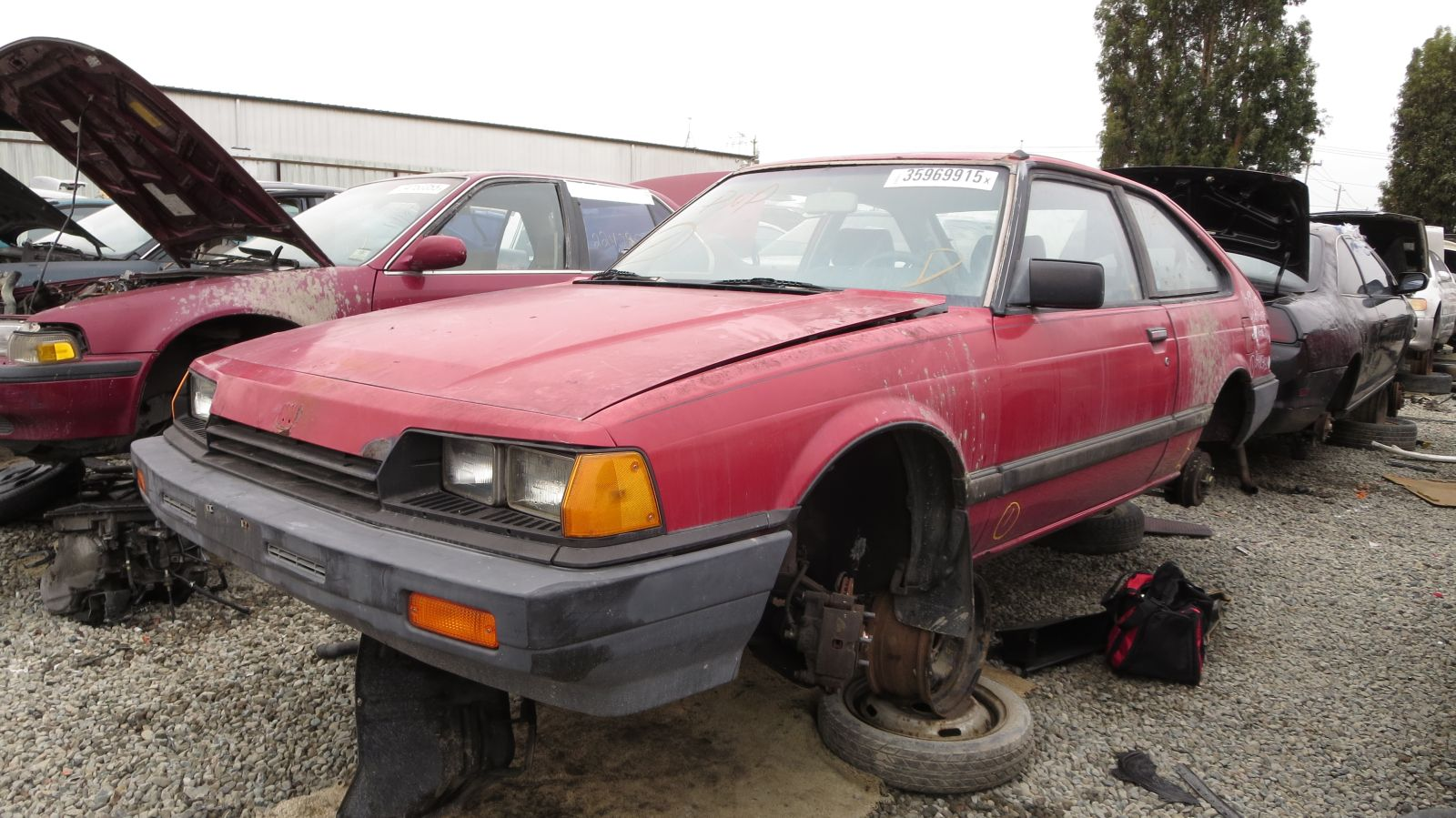 hight resolution of 1984 honda accord in california wrecking yard lh front view 2016 murilee martin