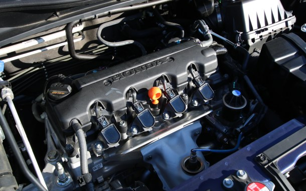 2016 Honda HR-V 1.8-liter engine, Image: © 2016 Alex Dykes/The Truth About Cars