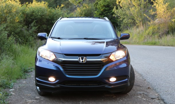 2016 Honda HR-V Exterior Front, Image: © 2016 Alex Dykes/The Truth About Cars