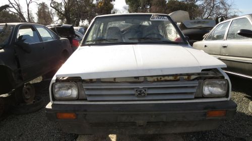 small resolution of 1988 subaru justy in california wrecking yard front view 2016 murilee martin