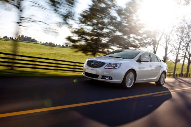 2016 Buick Verano sedan white