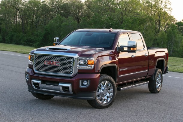 2017 GMC Sierra Denali 2500HD, Image: General Motors