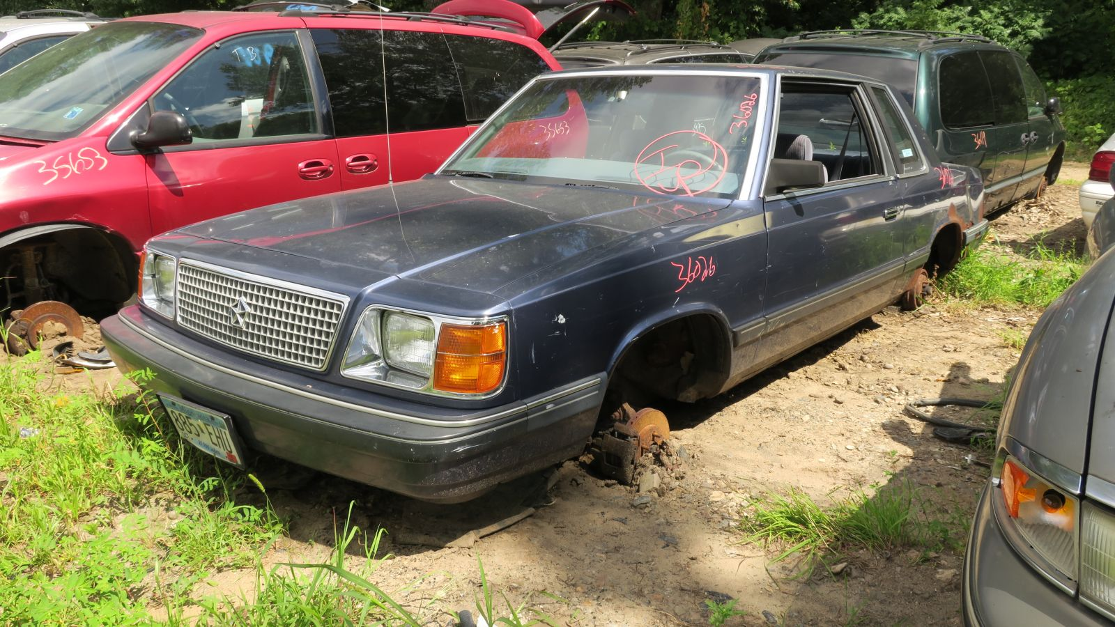 hight resolution of junkyard find 1989 plymouth reliant america the truth about cars k car wagon plymouth reliant k