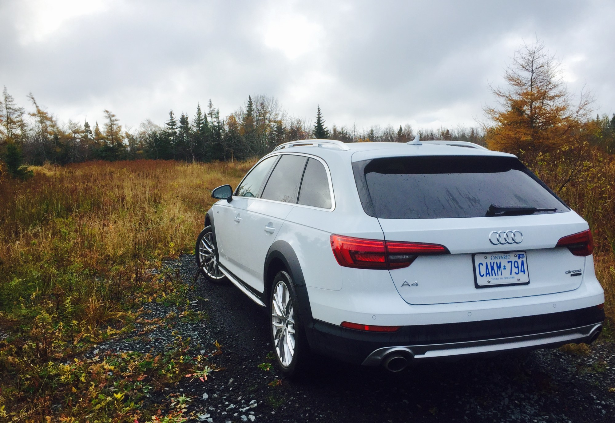 hight resolution of 2017 audi a4 allroad white rear