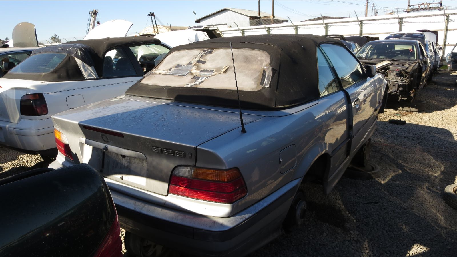 hight resolution of 1996 bmw 328i e36 in california junkyard rh rear view 2016 murilee martin