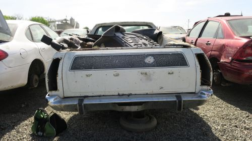 small resolution of 1977 ford ranchero gt brougham in california wrecking yard rear view 2017 murilee