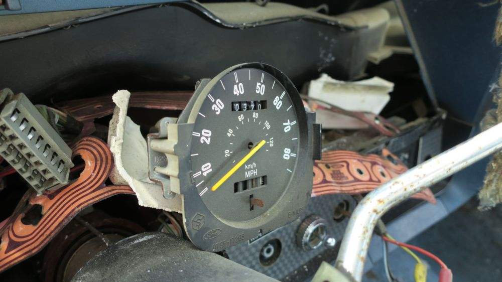 medium resolution of 1977 ford ranchero gt brougham in california wrecking yard speedometer 2017 murilee martin