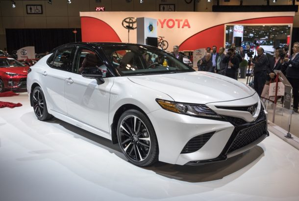 all new camry specs bemper depan grand avanza veloz 2018 toyota has the most standard horsepower among midsizers canada reveal image