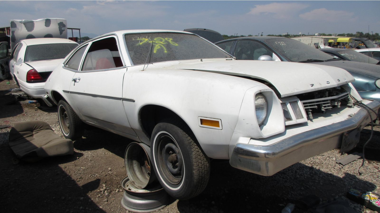 hight resolution of 1977 ford pinto in colorado wrecking yard rh front view 2017 murilee martin