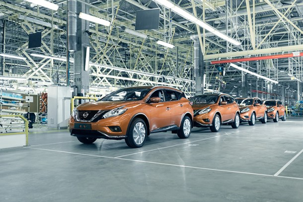 Nissan Murano production