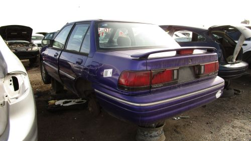 small resolution of 1995 mercury tracer in colorado wrecking yard lh rear view 2017 murilee martin