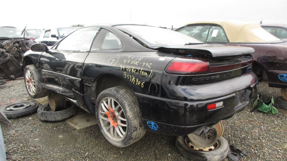 medium resolution of 1995 dodge stealth in california wrecking yard lh rear view 2018 murilee martin