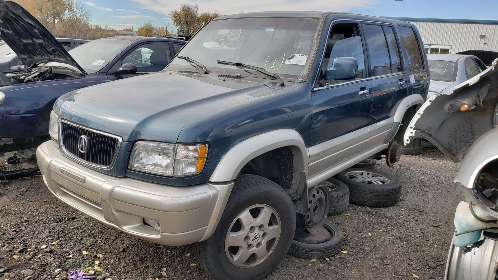 hight resolution of 1999 acura slx in colorado wrecking yard lh front view 2018 murilee martin