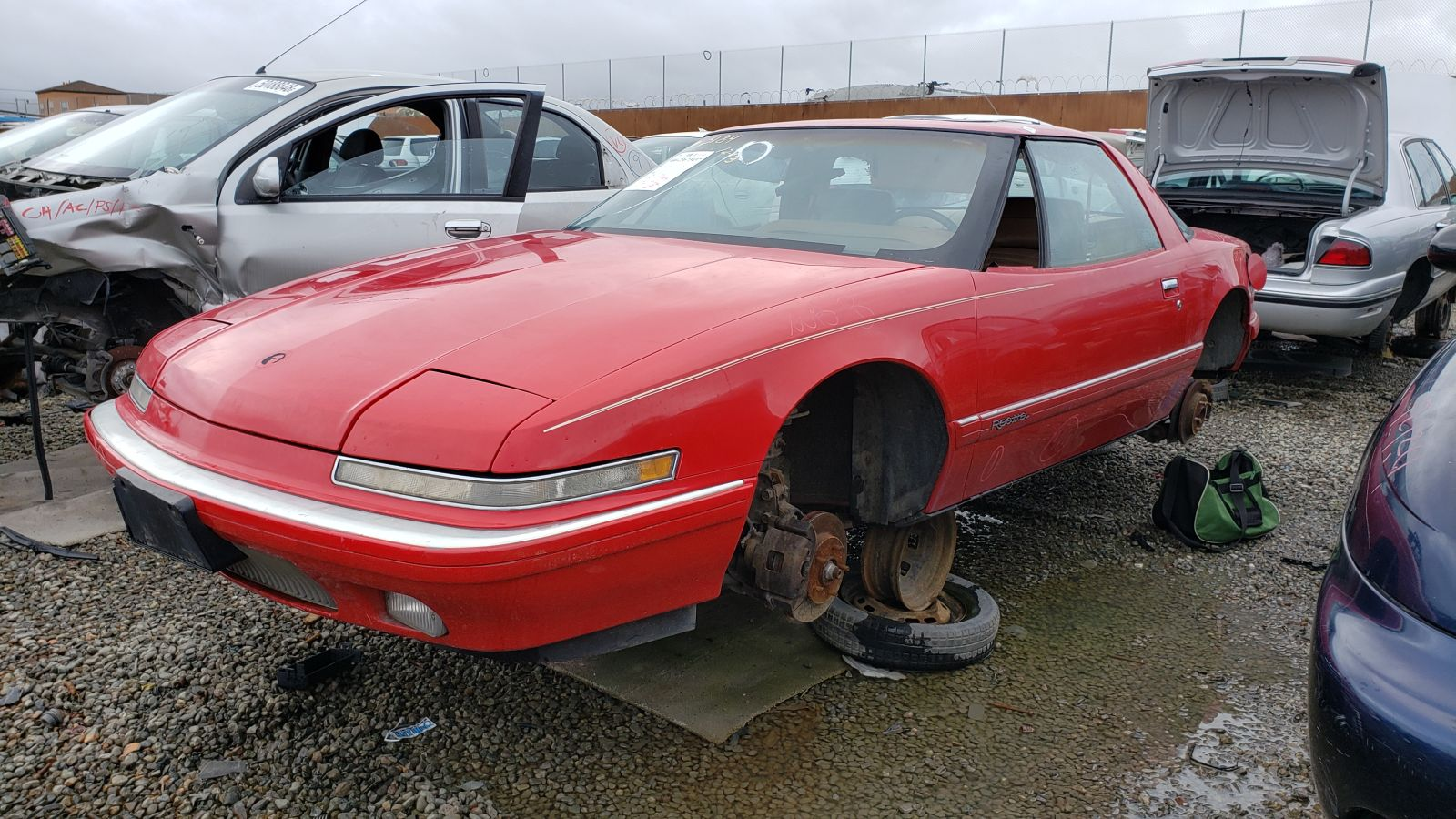 hight resolution of 1990 buick reatta in california wrecking yard lh front view 2019 murilee martin