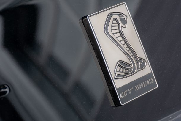 2019 Ford Mustang Shelby GT350 snake badge