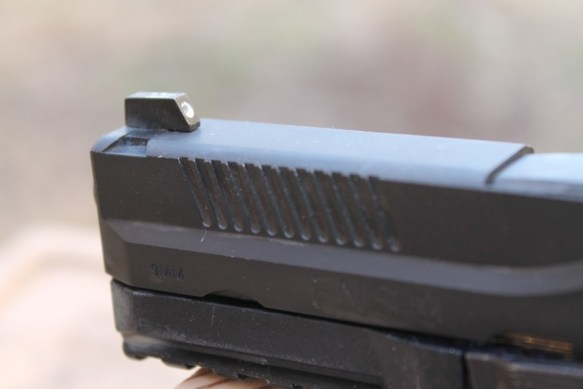 FNS-9 front sight (courtesy Tyler Kee for The Truth About Guns)