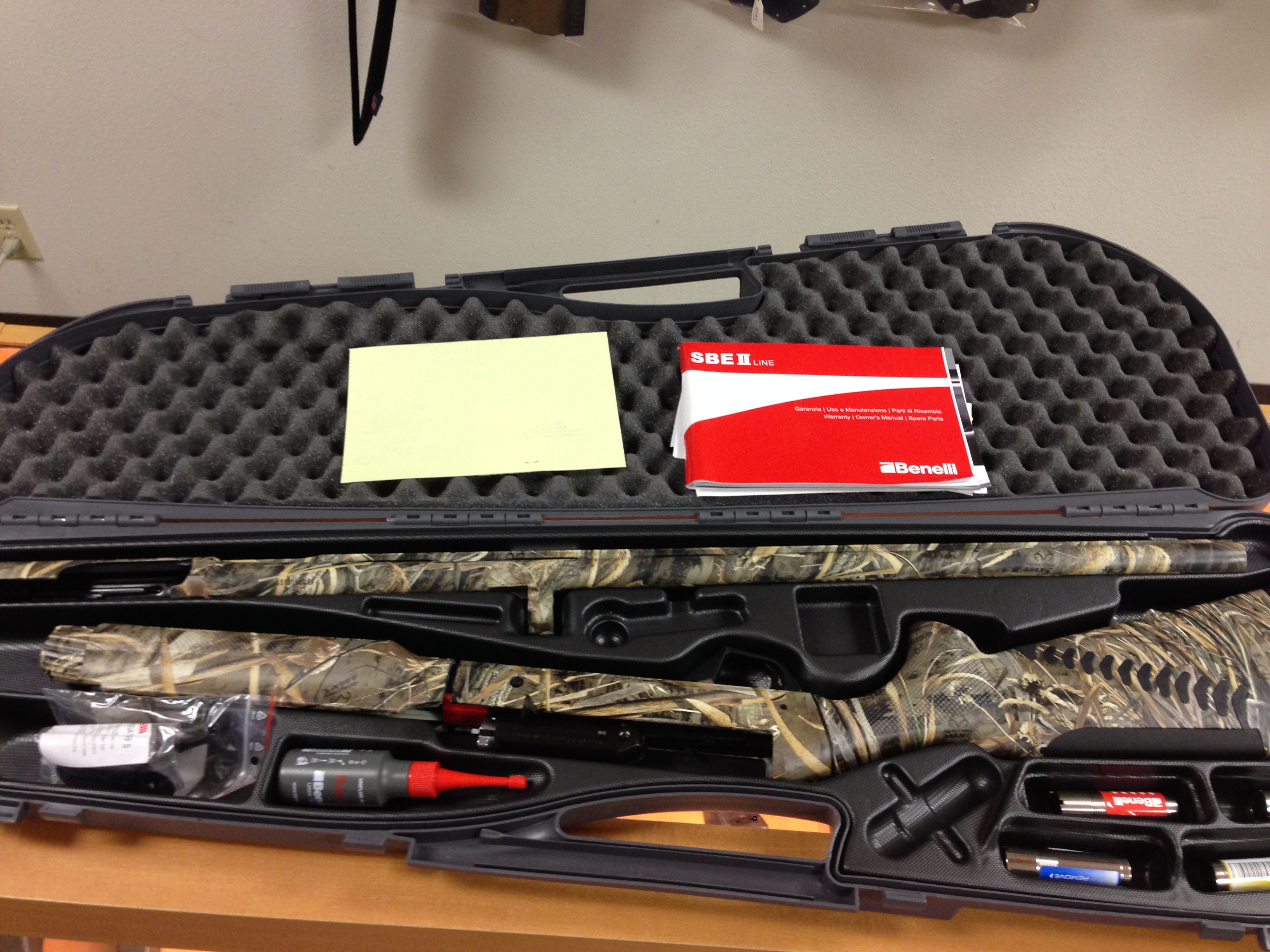 Just Arrived: Benelli Super Black Eagle II | Written By