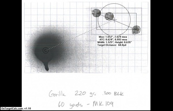 gorilla 220 gr