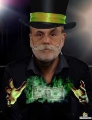 The magic man Ben the printing press Bernanke.